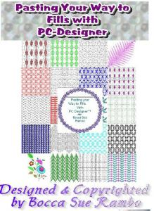 Bocca Sue Rambo Pasting Your Way To Fills With PC-Designer CD-Book