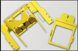 """Melco ICTCS1 Base Gator Clamp Chassis with 4.5x4.5"""" Window Frame"""