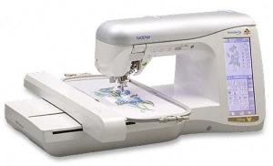 "Brother Trade In NV4000D Disney 7x12"" Embroidery Sewing Machine (BL Ellagante BLG) Replaced by NV4500D NV4750D NV5000, Accessories Available, babylock ellegante blg, babylock ellegante, babylock blg, ellegante blg,  brother innovis, brother innov is, brother innov-is, babylock ellegante, ellegante, baby lock ellegante, ellegante embroidery, Brother Innovis NV4000D, Innov-ís, Brother Disney, 7x12"" Embroidery, Sewing Machine, Auto Thread"
