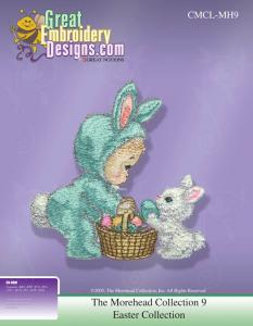 Great Notions Inspiration Collection 112173 MH9 Morehead Easter Multi-Formatted CD Embroidery Designs