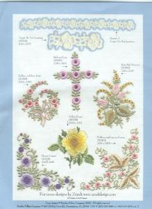 Martha Pullen Zundt Swiss Embroidery Designs Volume 3 Multi Format CD