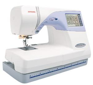 "Janome MC9500 100 Stitch Sewing 5.5x8"" Embroidery Machine , 6Mo 0% Financing"