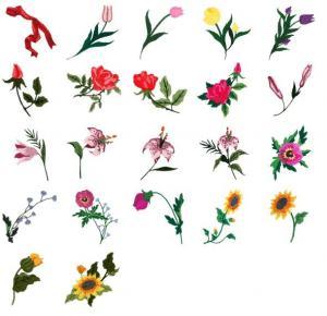 Cactus Punch FLO04 Bouquet Elements Embroidery CD
