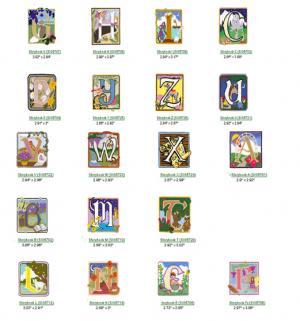 Cactus Punch Sig57 Alice Scott Morris Alpha Blocks Embroidery CD