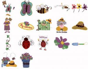 Cactus Punch SIG24 Garden Grannie Cheryl Jukich, Threadbare Embroidery Disk