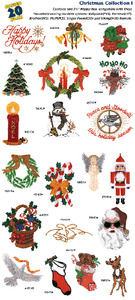 Amazing Designs / Great Notions 1003 Christmas I Multi-Formatted CD