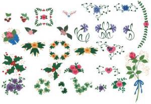 Cactus Punch SIG30 Jill McCloy, Petite Petals Embroidery Disk