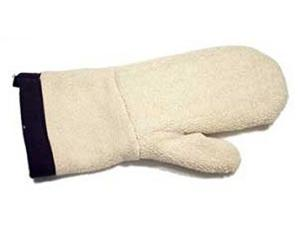 Jiffy, 1040, Protective, Heavy, Weight, Hand, Mitt, Glove, using, Garment, Steam, Cleaner, Prevent, Scorching, Heat, Contacting, Skin