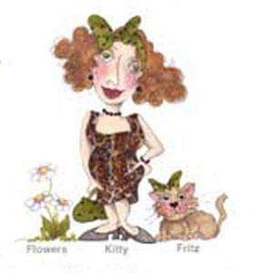 Loralie Embroidery Designs 630258  Fancy Cats Multi-Formatted CD