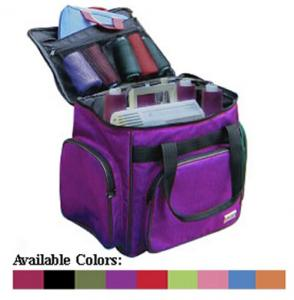 "Tutto 1214G Serger Soft Padded Tote Bag Carrying Case 14.5""SQ x 10.5""D  to put your Overlock Machine on Wheels"