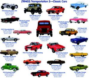 Cactus Punch TRN02 Transportation 2: Classic Cars