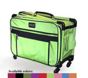 """Tutto 4220MA-Medium Sewing Machine Roll Tote Bag Case Trolley 20x13x10"""" in Purple, Turquoise, Red, or Black"""