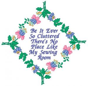 Laura's Sewing Studio Floral Embellishments Embroidery Collection Multi-Formatted CD