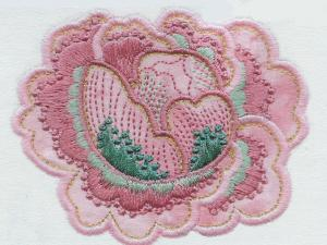 Laura's Sewing Studio Applique Elegance 4X4 Embroidery Designs Multi-Formatted CD