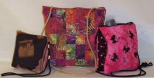 Laura's Sewing Studio Pursenickety Purses Zippety Pattern