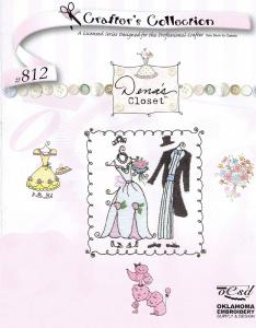 OESD 812 Crafter's Collection Dena's Closet Embroidery Card in Brother .pes Format