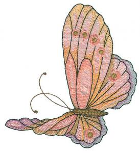 Amazing Designs BMM1 Butterfly Mylar Magic Large Designs Brother Card