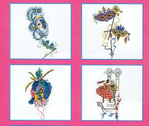 Pfaff 321 Carnival Embroidery Card For Pfaff 2140  and 2170 Machines in .pcs format