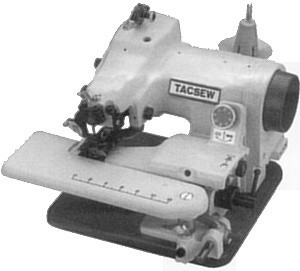 Tacsew T500 T-500 #1 King of Blind Stitch Hemmer Portable Sewing Machines NLA, Replaced by Reliable, Consew, Yamata, Ricoma, Gemsy, Rex Blindstitch