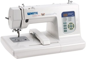 "9631: White 4400 4x4"" Embroidery Machine USB +Digitizing Windows XP 32 Bit Only*"