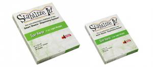 "Amazing Designs ADS-7810L Stabilize It 50 Smart Sheets 7-1/2x9"", Tear-Away Stabilizer, 1oz Light Weight"