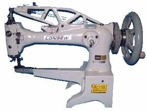"Consew 29BL Big M Bobbin 18"" Long 1-4/32"" Cylinder Arm, KD Unassembled* Pedestal Space Saver Stand, Speed Reducer"