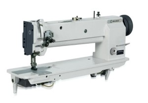 """Reliable 5400TW 18"""" Longarm 1/4"""" Double Needle Feed Walking Foot Sewing Machine"""