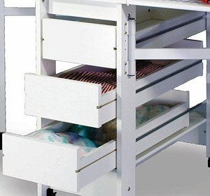 10265: Fashion Sewing Cabinets #96 3-Drawers for 97 Cutting Craft Table or 98*