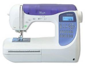 10338: Brother NX450 Trade In 294-Stitch Computer Sewing Machine, 10 Buttonholes, Replaces NX400