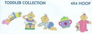 Smartneedle Toddler Collection 5X7 Embroidery Designs Multi-Formatted CD