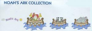 Smartneedle Noah's Ark Collection 4X4 Embroidery Designs Multi-Formatted CD