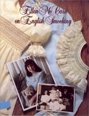 Ellen McCarn 0961806605 Book on English Smocking, Full Color, 32 Pages