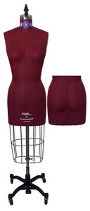 PGM Pro 603 Professional Dress Form with Hip, Sizes 4 6 8 10 12