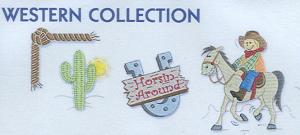 Smartneedle Western Collection 4X4 Embroidery Designs Multi-Formatted CD