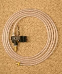 Thermax AF1 14' Hot Water Cleaning Solution Hose/Brass Fitting