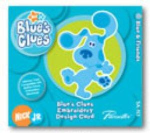 10823: Brother SA-N3 Nickelodeon Blues Clues Embroidery CD, 25 Designs, 4x4""