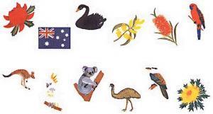 Elna MC22 Australia Envision Embroidery Card