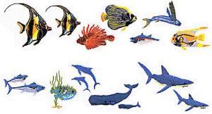 Elna MC24 Fish Envision Embroidery Card