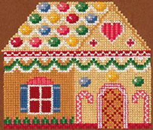 Sudberry House D6200 Gingerbread Cross Stitch Embroidery Design Multi-Formatted CD