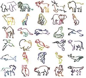 Dakota Collectibles 970020 Animal Outline Multi-Formatted CD