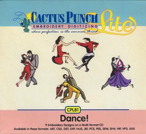 Cactus Punch CPL81 Dance Multi-Formatted CD