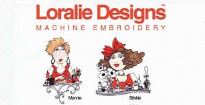 Loralie Designs 630668 Loralie Salon 1 Embroidery Designs Multi-Formatted CD