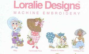 Loralie Designs 630712 Loralie Garden Party II Embroidery Designs Multi-Formatted CD