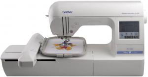 "11670: Brother RPE750D Disney 5x7"" Embroidery Card Only Machine, Serviced with PED Basic Box"