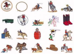 Dakota Collectibles 970094 Rodeo Home Format Multi-Formatted CD