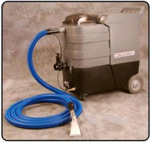 Thermax CP12-DV Carpet Cleaner Extractor Base Unit +Contractor Pkg: 15' Hoses, 20' Hide A Hose Stainless Steel Detailer with Spray, Built On Easy Grip