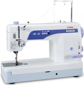 "Janome, MC1600P DBX, Same as Singer Studio S16, Demo, Straight Stitch, Sewing, Quilting, Machine, 6x9"" Arm Space, 1/2"" Foot Lift, Thread Trims, Knee Lever, Speed Limit, Needle Up, Down"