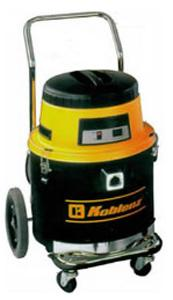 "Koblenz, AI-1260-P, Industrial, Wet Dry, Bagless, Canister, Vacuum Cleaner, 1250W, 9A, 3.5HP, 96CFM, 68bB, 35' 3-Wire Cord, 10"" Wheels, 12 Gal"