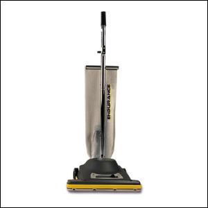"Koblenz U-610-ZN Endurance All Metal Upright Vacuum Cleaner, 8Amp, 16""Wide Path, Dust Bag, 50' 3Wire Cord, Metal Construction, Ball Bearing Brush Roll"