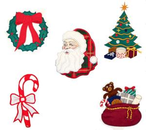 Dalco Christmas I Collection Applique Designs